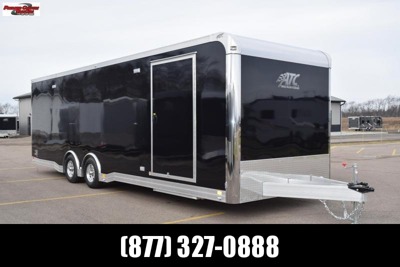 2018 ATC 28ft ALL ALUMINUM RACE HAULER w/CH305 PACKAGE