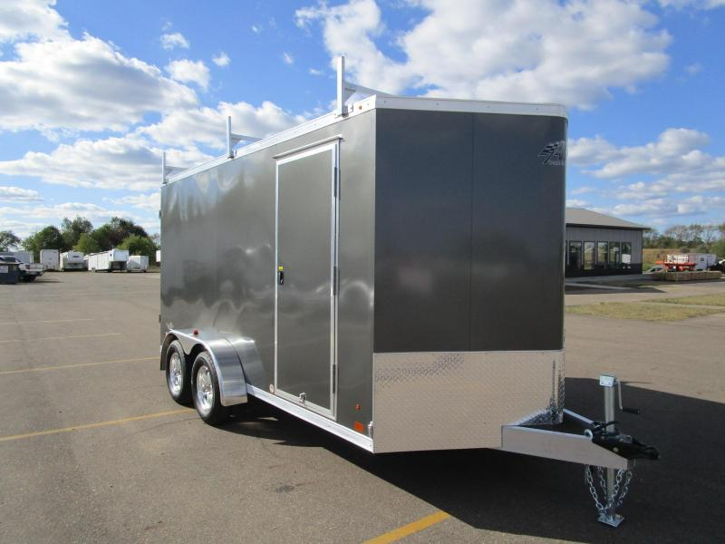 2018 ATC ALL ALUMINUM 7x14 CONTRACTOR TRAILER