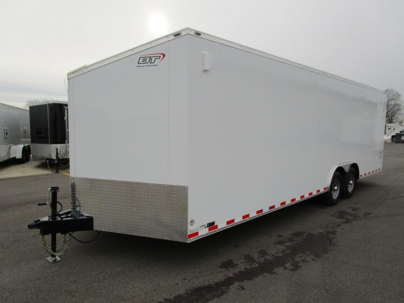2017 Bravo 8.5x24 Scout Enclosed Car Hauler