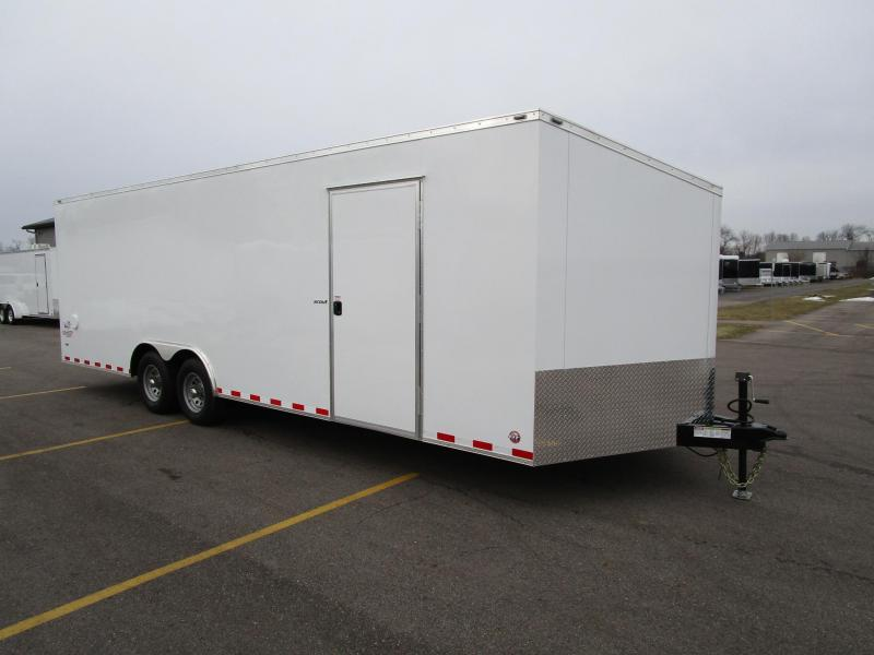 2018 BRAVO 8.5x24 SCOUT ENCLOSED CAR HAULER