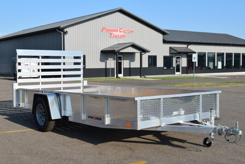 2020 SPORT HAVEN 6x14 OPEN UTILITY TRAILER w/ SIDES
