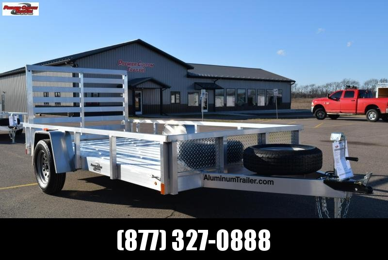 2018 ATC ALL ALUMINUM 6x12 UTILITY TRAILER