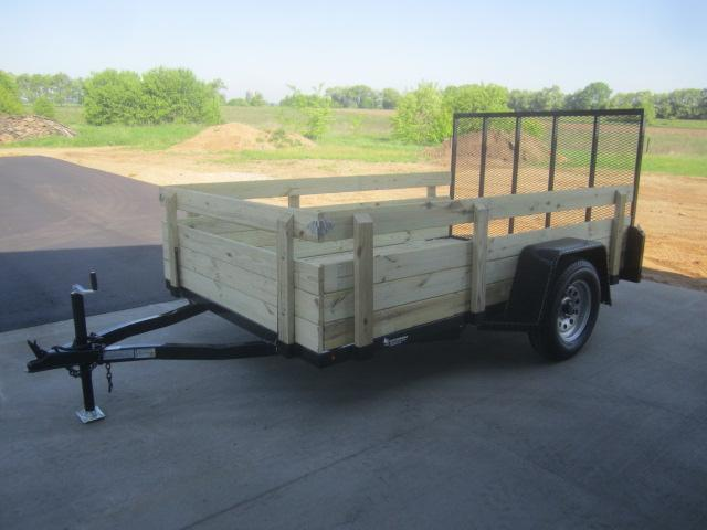 "2018 NATION 6'4""x10' OPEN UTILITY TRAILER"