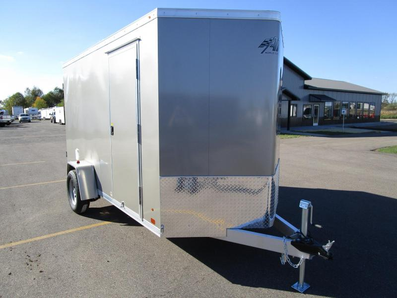 2018 ATC ALL ALUMINUM 6x12 CARGO TRAILER