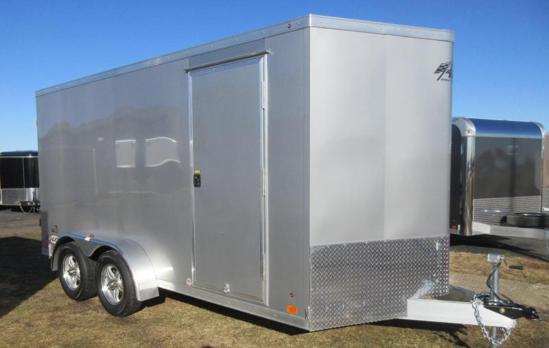2018 ATC ALL ALUMINUM RAVEN 7x14 CARGO TRAILER