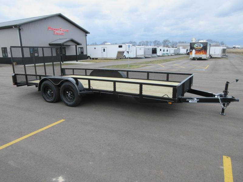 "2018 NATION 82""x18' OPEN LANDSCAPE TRAILER"