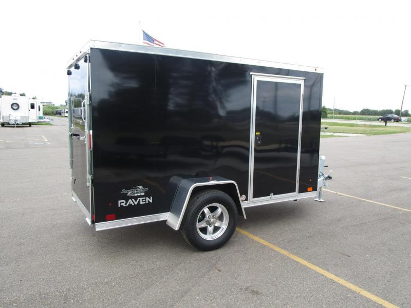 2018 ATC ALL ALUMINUM 5x10 RAVEN CARGO TRAILER
