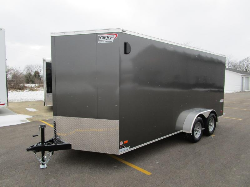 2018 BRAVO 7x16 SCOUT ENCLOSED CARGO TRAILER