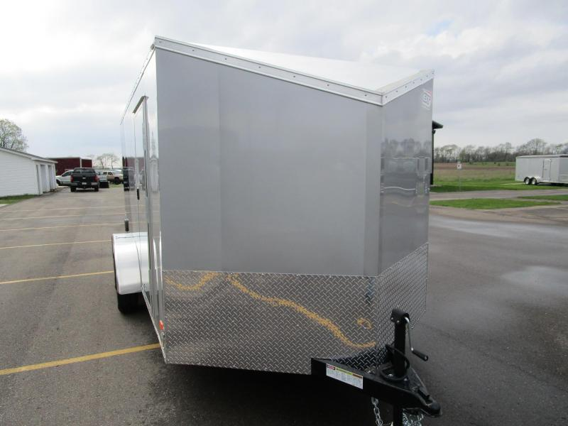 2018 BRAVO 7x14 SCOUT ENCLOSED MOTORCYCLE TRAILER