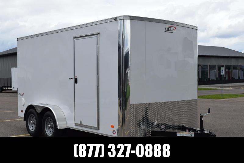 2019 BRAVO 7x14 SCOUT ENCLOSED CARGO TRAILER