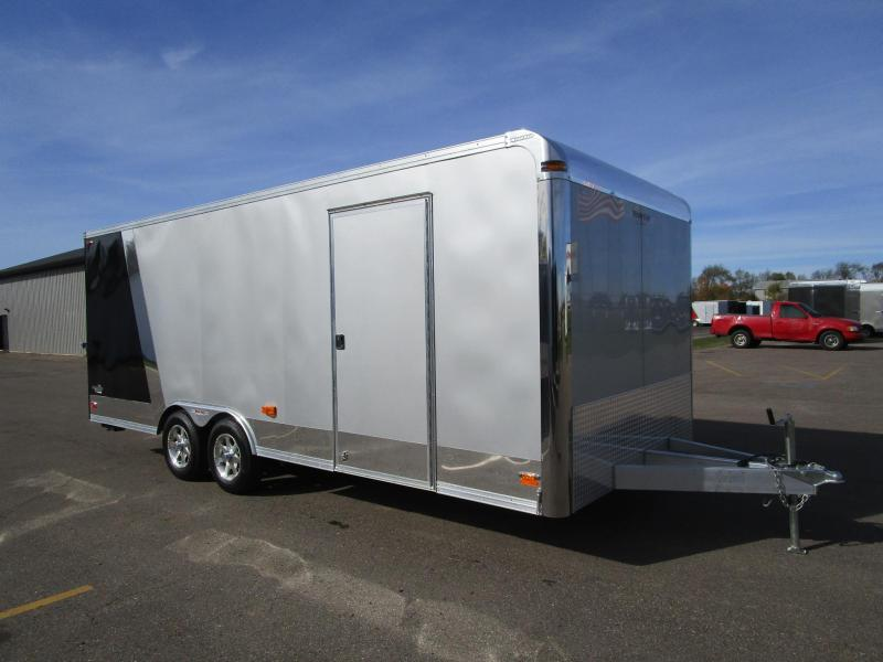 2011 NASH CAR 8.5x20 ALUMINUM ENCLOSED CAR HAULER