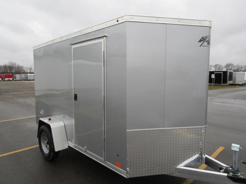 2018 ATC ALL ALUMINUM 6x10 RAVEN CARGO TRAILER