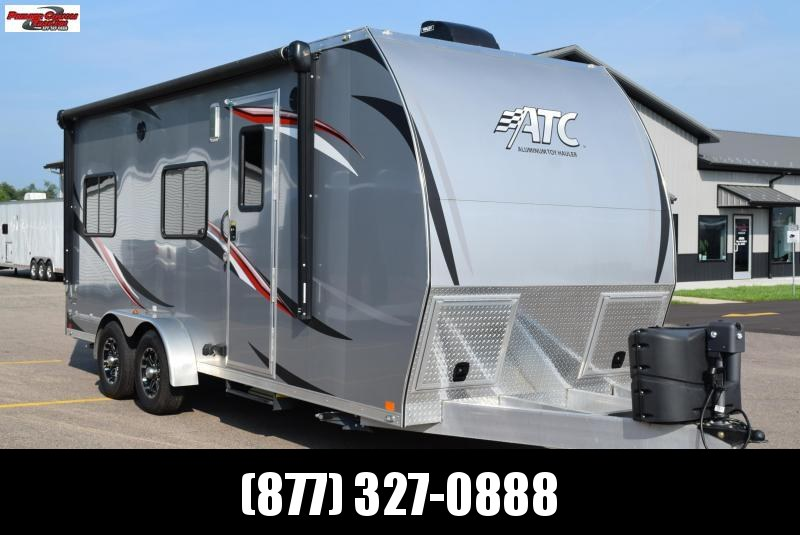 USED 2017 ATC ALL ALUMINUM 7x20 TOY HAULER