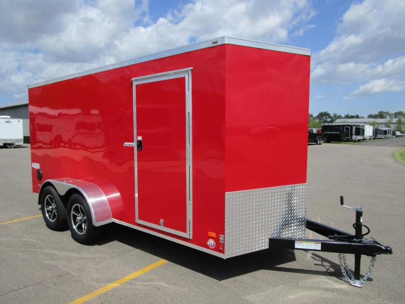 2018 BRAVO SCOUT 6x14 ENCLOSED CARGO TRAILER