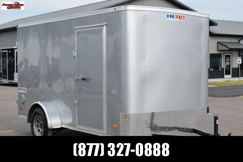 2019 BRAVO HERO 6x12 ENCLOSED CARGO TRAILER
