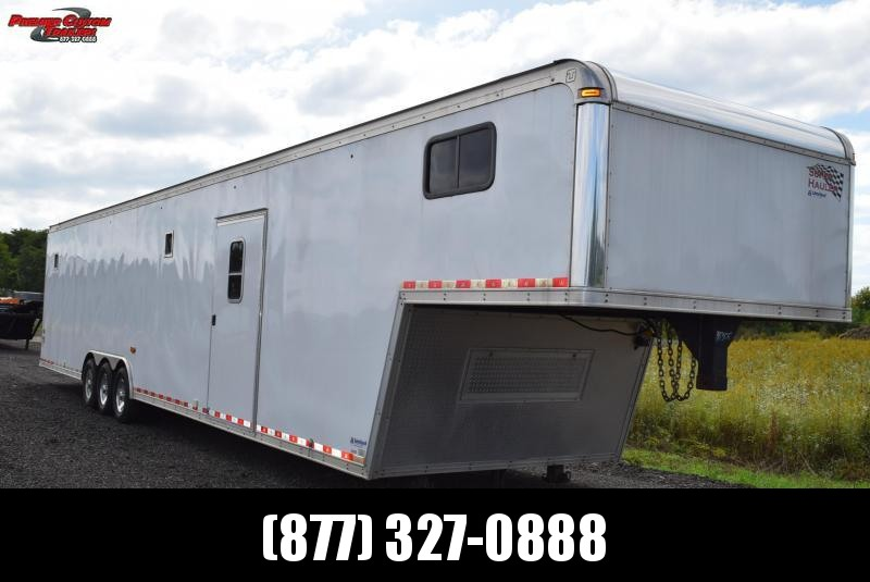 USED 2013 UNITED 48' SUPER HAULER RACE CAR TRAILER
