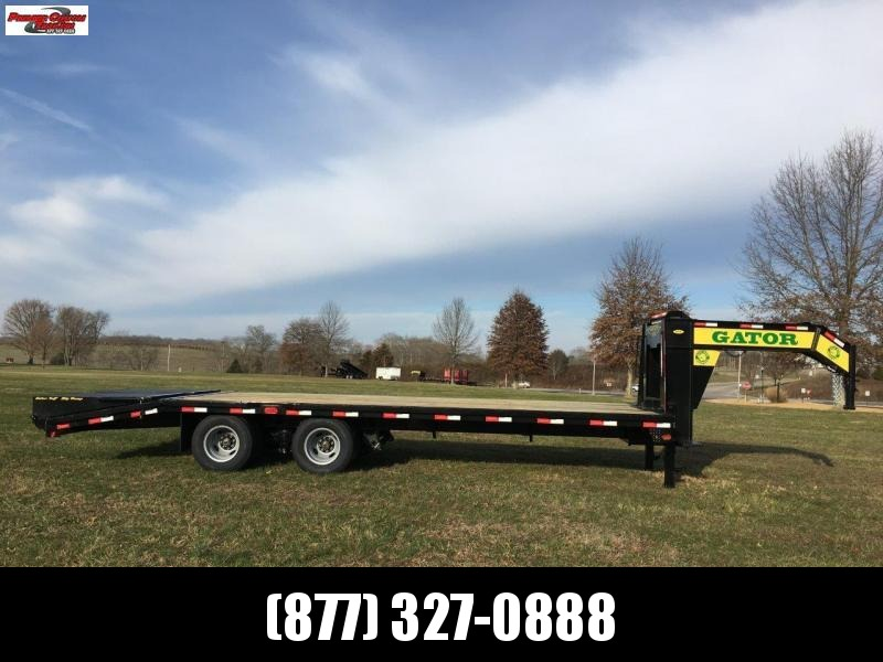 GATORMADE 25+5 TANDEM DUAL ELITE GOOSENECK HEAVY EQUIPMENT TRAILER