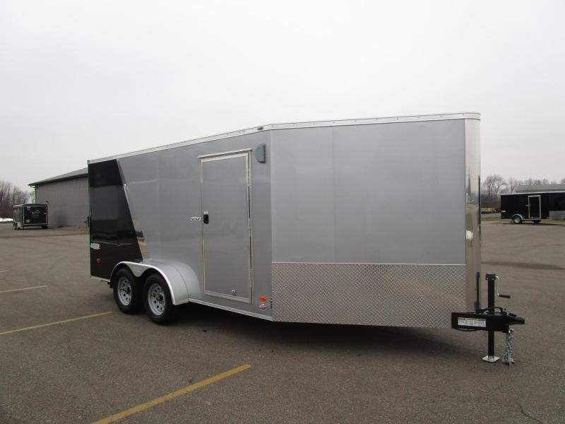 2018 BRAVO 7x14 SCOUT ENCLOSED MOTORCYCLE TRAILER w/ 5