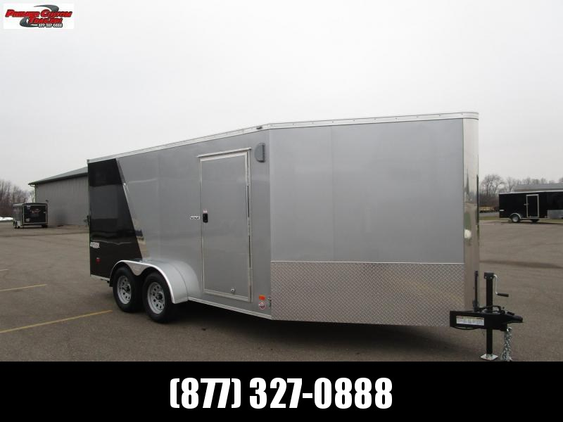 2019 BRAVO 7x14 SCOUT ENCLOSED MOTORCYCLE TRAILER w/ 5