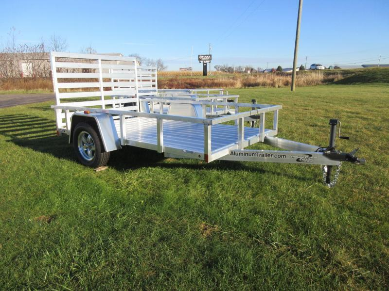 2018 ATC ALL ALUMINUM 6x12 UTILITY TRAILER w/RAMP GATE