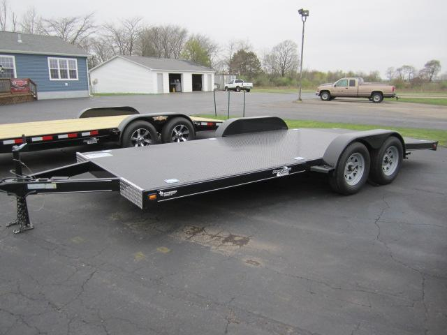 2019 NATION 18' ECONO STEEL DECK OPEN CAR HAULER