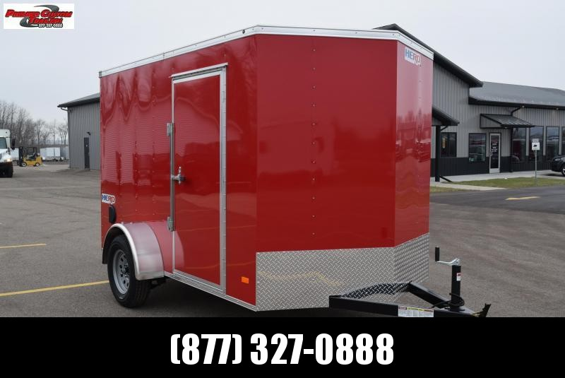 2019 BRAVO HERO 6x10 ENCLOSED CARGO TRAILER