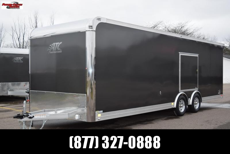 2018 ATC 26ft ALL ALUMINUM RACE HAULER w/CH205 PACKAGE