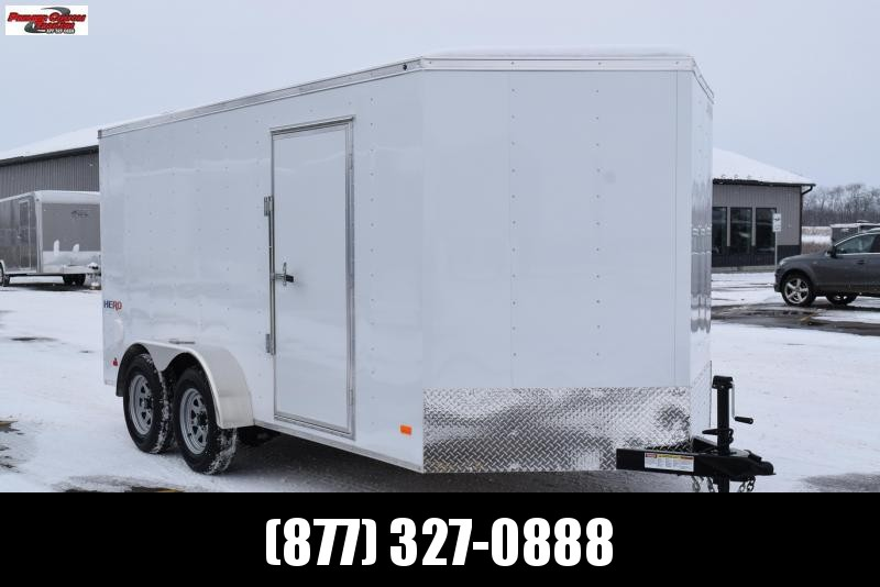 2018 BRAVO HERO 7x14 ENCLOSED CARGO TRAILER
