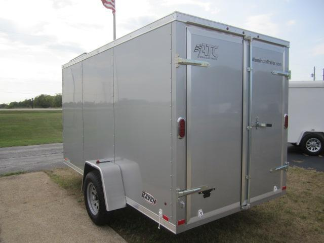 2018 ATC ALL ALUMINUM 6x12 RAVEN CARGO TRAILER