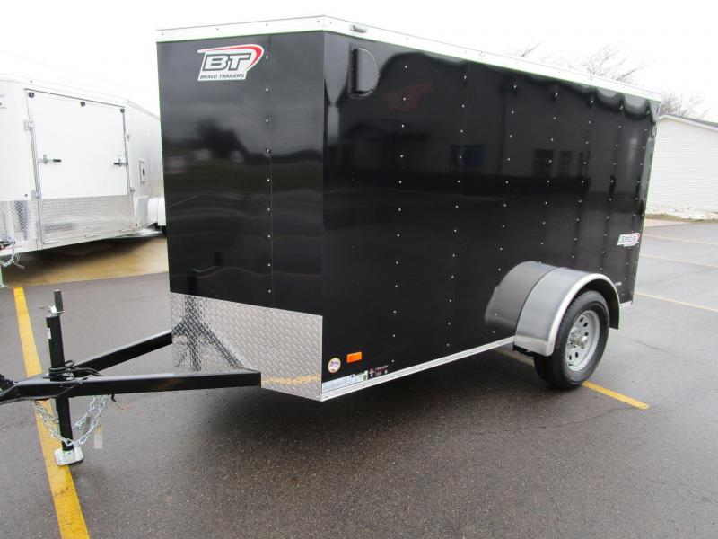 2018 BRAVO 5x10 SCOUT ENCLOSED MOTORCYCLE TRAILER
