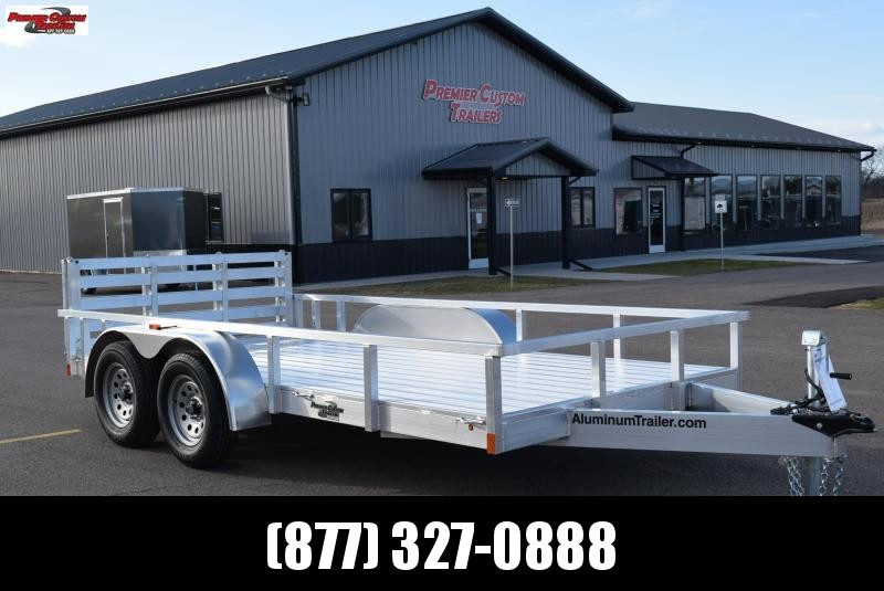 2018 ATC 7x14 ALL ALUMINUM UTILITY TRAILER