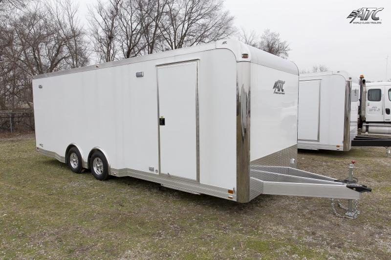 2017 ATC 24' QUEST ALL ALUMINUM RACE HAULER w/CH305