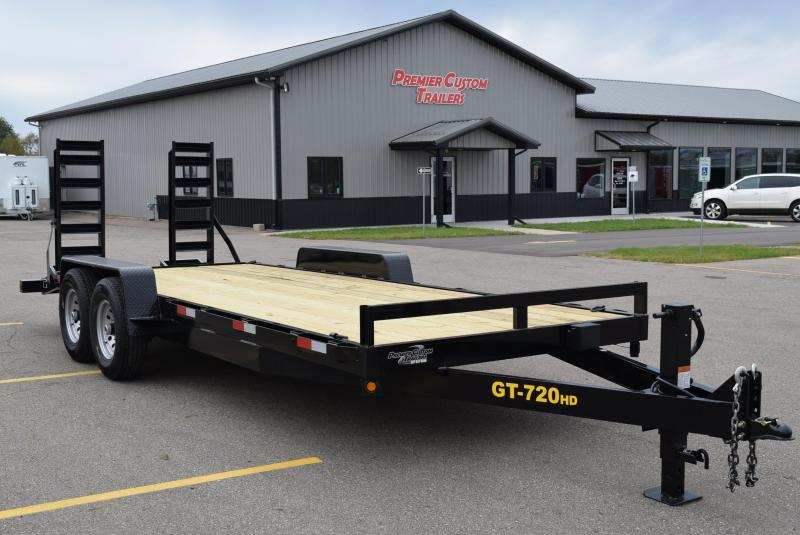 2018 GRIFFIN 20' EQUIPMENT HAULER w/14k GVW