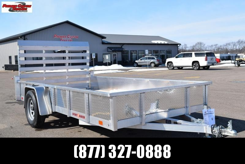 2019 SPORT HAVEN 6x12 OPEN UTILITY TRAILER w/ SIDES