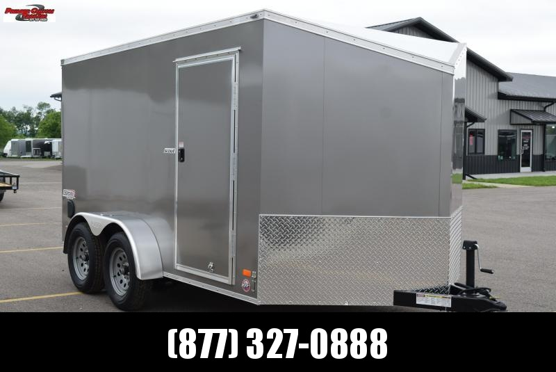2019 BRAVO 7x12 SCOUT ENCLOSED CARGO TRAILER