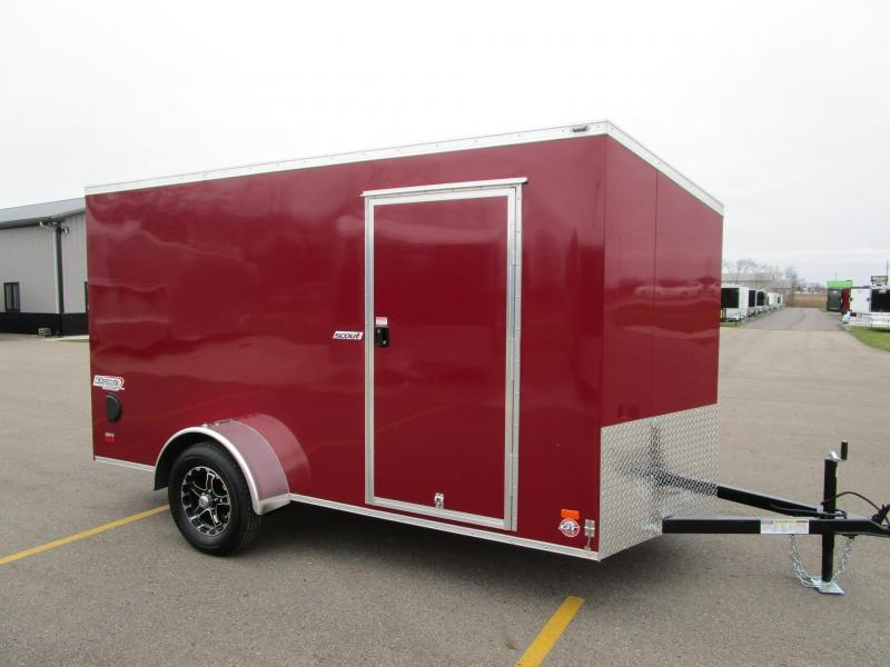 2018 BRAVO 6x12 ENCLOSED CARGO TRAILER