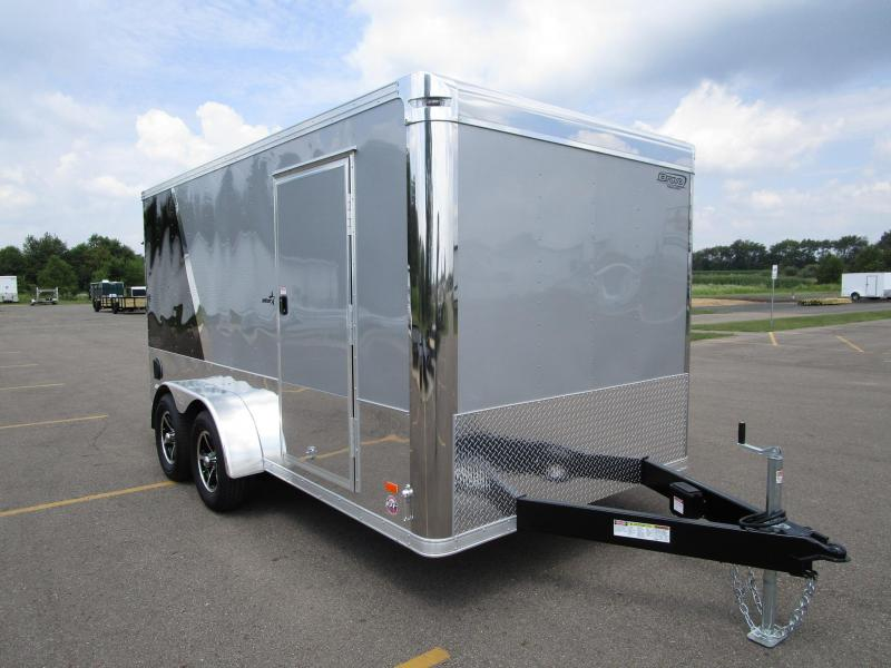 2018 BRAVO STAR 7x14 ENCLOSED MOTORCYCLE TRAILER