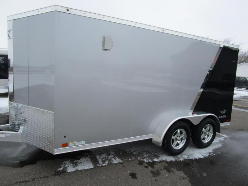 2018 ATC RAVEN 7x14 MOTORCYCLE TRAILER