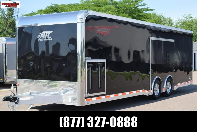 2019 ATC 28ft ALL ALUMINUM RACE HAULER w/CH305 PACKAGE
