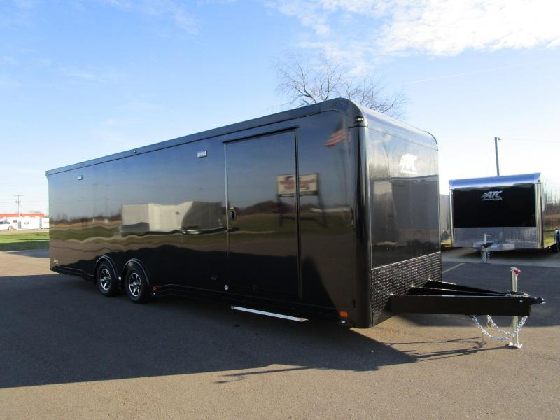 2018 ATC 28ft ALL ALUMINUM RACE HAULER w/CH405 PACKAGE