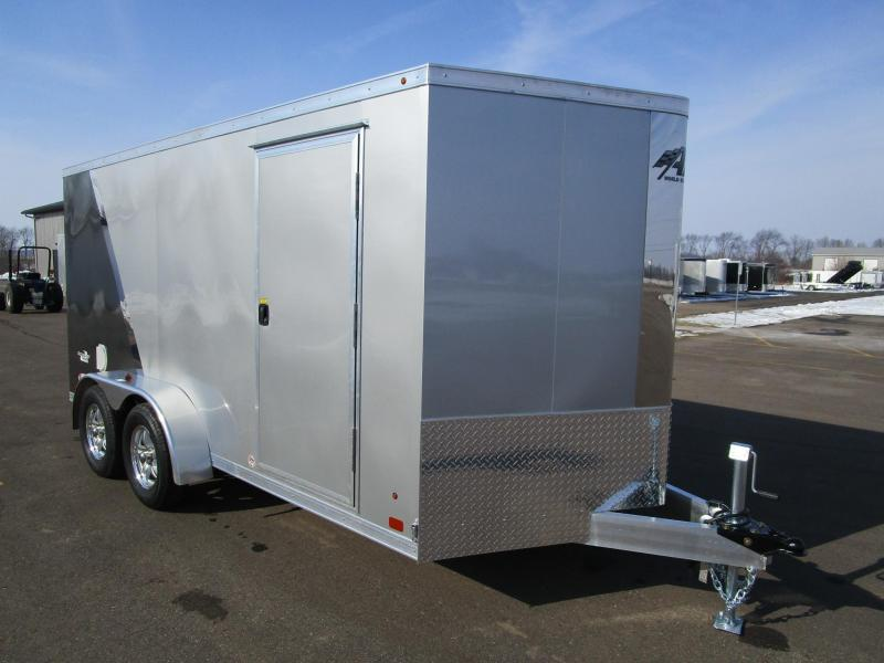 2017 ATC RAVEN 7x14 ALL ALUMINUM MOTORCYCLE TRAILER