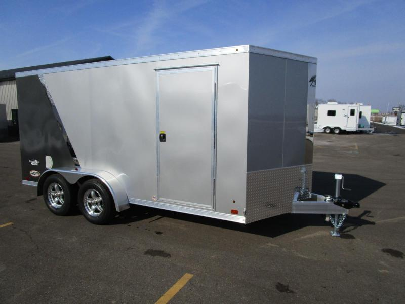 2018 ATC RAVEN 7x14 ALL ALUMINUM MOTORCYCLE TRAILER