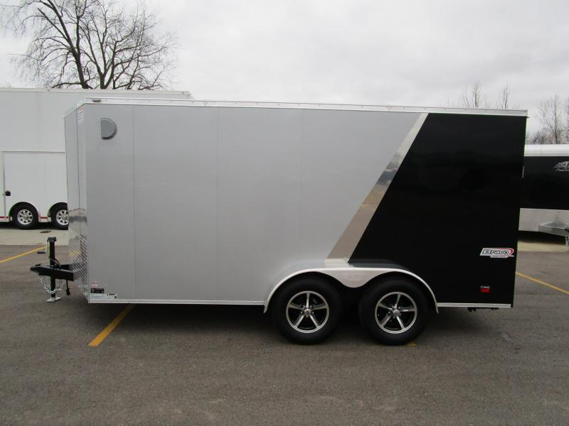 2018 BRAVO 7x14 ENCLOSED MOTORCYCLE TRAILER
