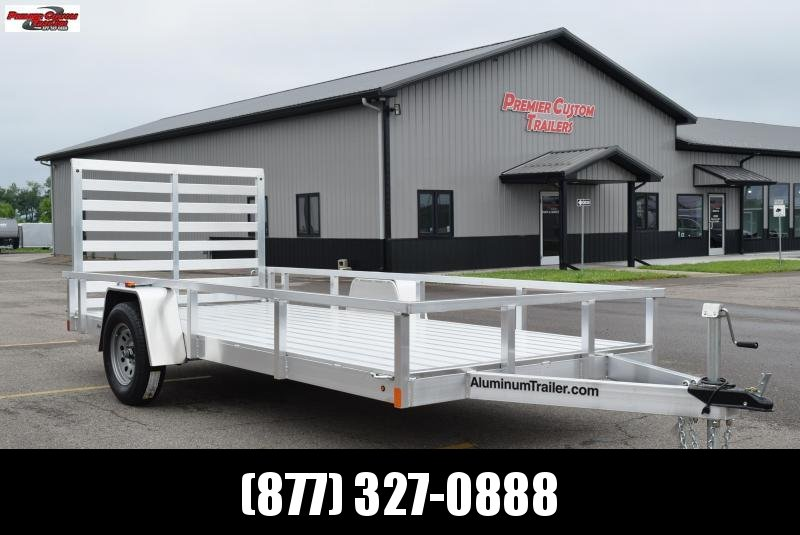 2019 ATC ALL ALUMINUM 6x14 UTILITY TRAILER