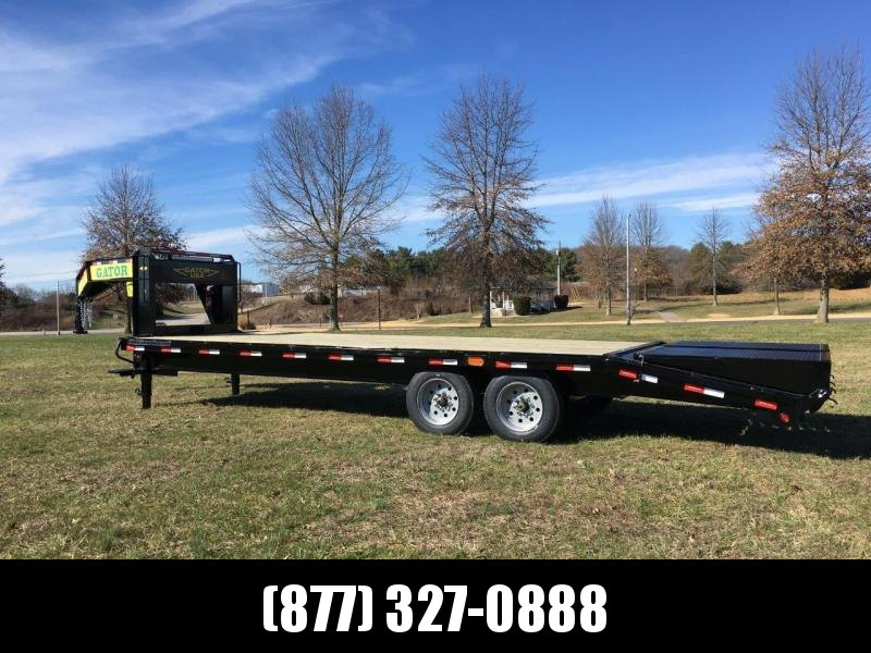 2019 GATORMADE 20+5 TANDEM 8K AXLE ELITE GOOSENECK HEAVY EQUIPMENT TRAILER