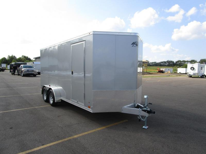 2018 ATC ALL ALUMINUM RAVEN 7x16 CARGO TRAILER
