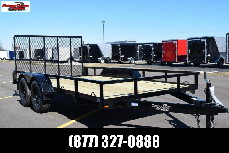 "2019 NATION 82""x14' OPEN LANDSCAPE TRAILER **CLEARANCE ITEM**"