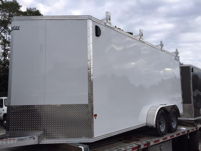 2019 High Country Trailers 7x16 contractor Enclosed Cargo Trailer