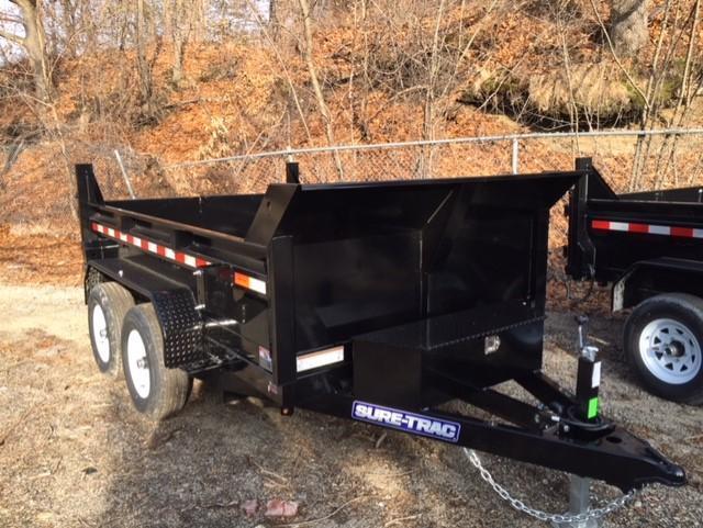 2019 Sure-Trac 6 X 10 10K SD Low Profile Dump Trailer