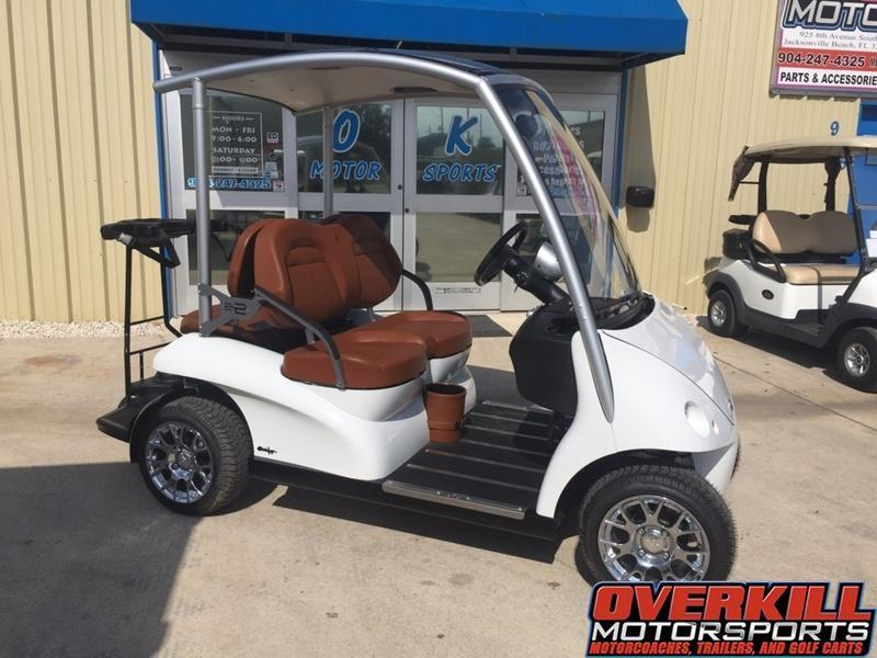 2017 Garia Electric Golf Car 4-Passenger White